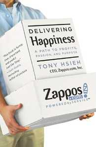 Cover for Delivering Happiness